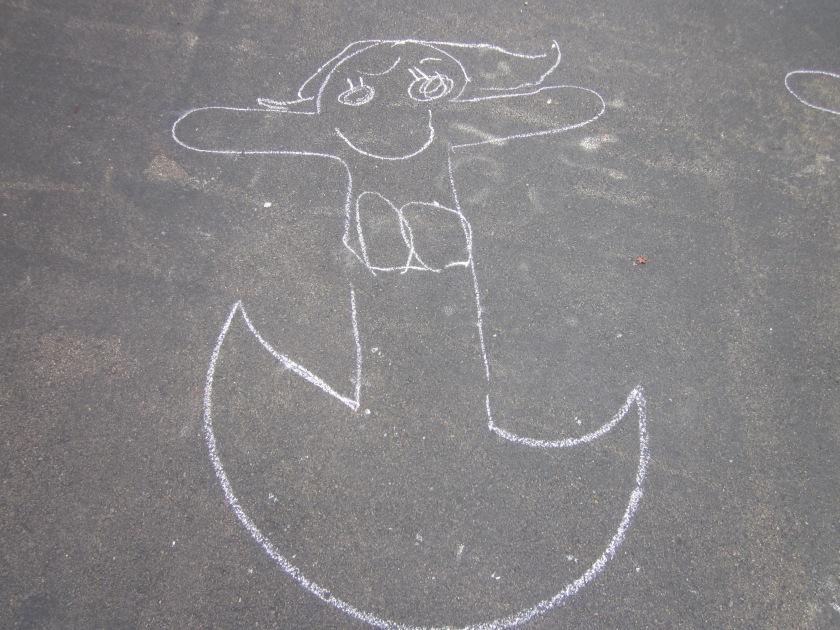 Finley B's mermaid